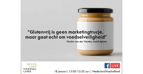 Nederland Voedselland gaat live in gesprek met Dutch Spices over allergenenmanagement