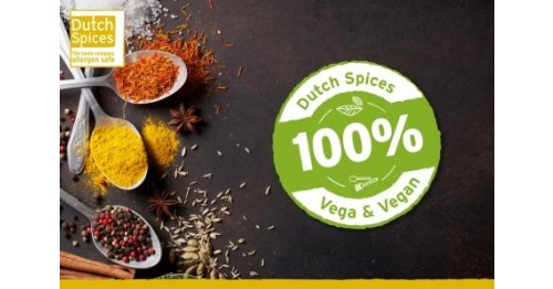 Dutch Spices 100% VEGA & 100% VEGAN!