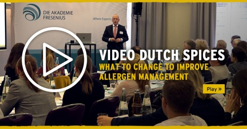 Video Dutch Spices: what to change to improve allergen management