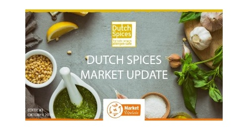 Comming soon: Dutch Spices Market Update