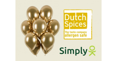 Again … Dutch Spices awarded SimplyOK top certification for allergen management